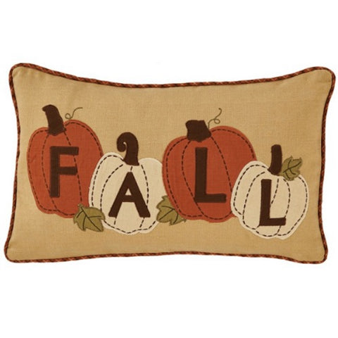 Fall Pumpkin Accent Pillow Cover