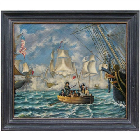 Admiral Perry Lake Erie Framed - Farmhouse-Primitives