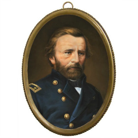 Ulysses S Grant Brass Oval - Farmhouse-Primitives