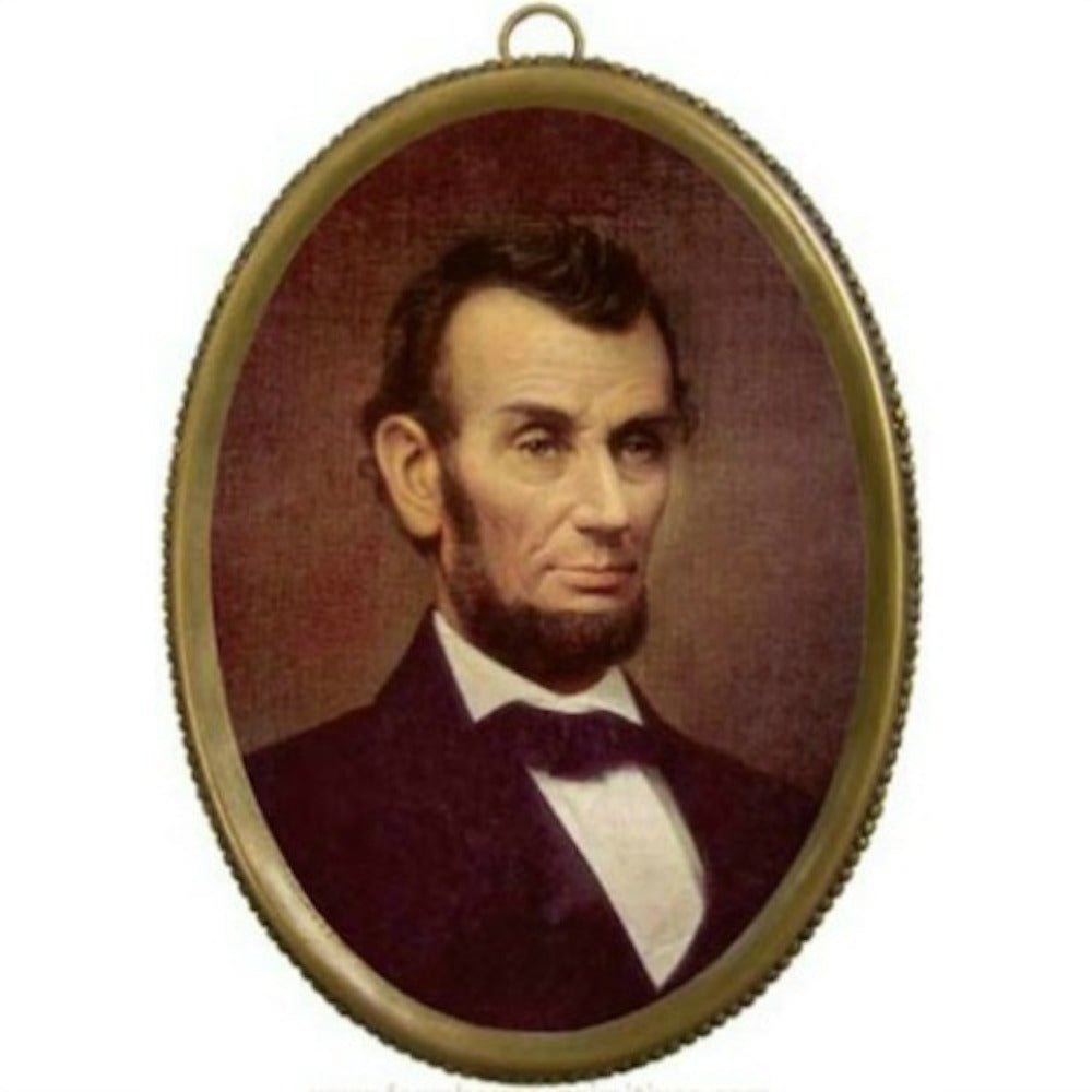 Lincoln Brass Oval