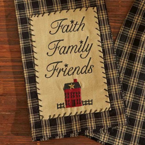 Sturbridge Home Black Plaid Dish Towel
