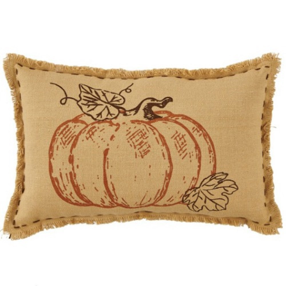 Pumpkin Accent Pillow - Farmhouse-Primitives