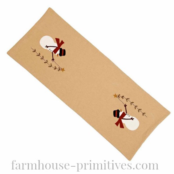 Pine Tree Wishes Table Runner - Farmhouse-Primitives