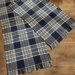 Dylan Navy Rug - Farmhouse-Primitives
