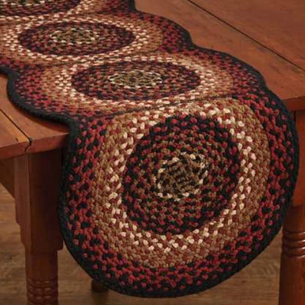 Folk Art Braided Table Toppers - Farmhouse-Primitives