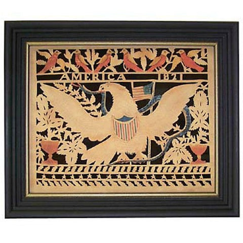 America's Eagle Scherenschnitte - Farmhouse-Primitives
