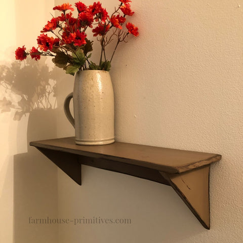 Simple Primitive Shelf - Farmhouse-Primitives