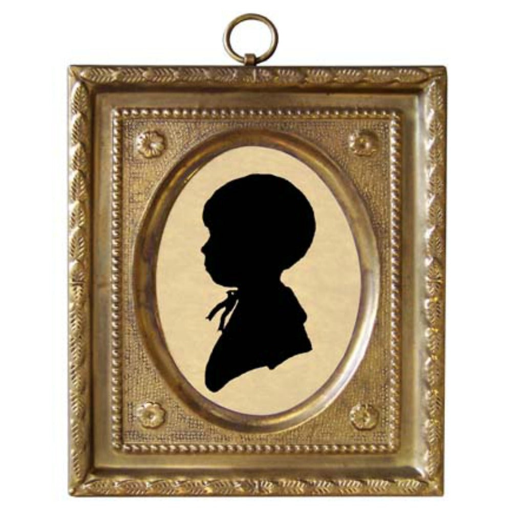 Boy by Doyle Silhouette - Farmhouse-Primitives