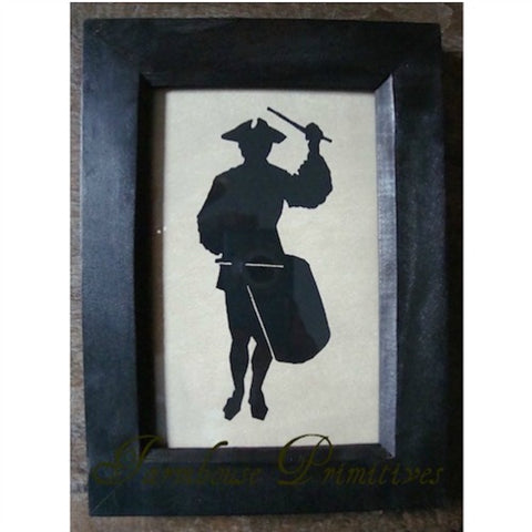 1776 Drummer Boy Silhouette - Farmhouse-Primitives