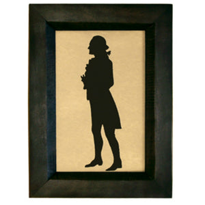 George Washington Standing Silhouette - Farmhouse-Primitives