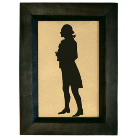 george washington silhouette