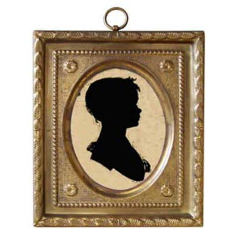 Girl by Peale Silhouette