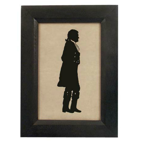 Thomas Jefferson Standing Silhouette - Farmhouse-Primitives