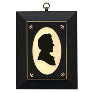 Abraham Lincoln Silhouette - Farmhouse-Primitives