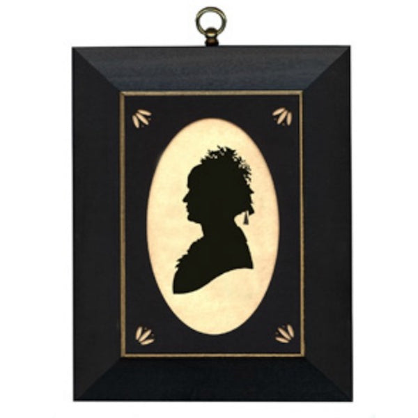 Mary Todd Lincoln Silhouette - Farmhouse-Primitives