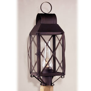 Silverton Outdoor Post Lantern - Farmhouse-Primitives