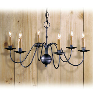 Stafford 6 Arm Chandelier - Farmhouse-Primitives