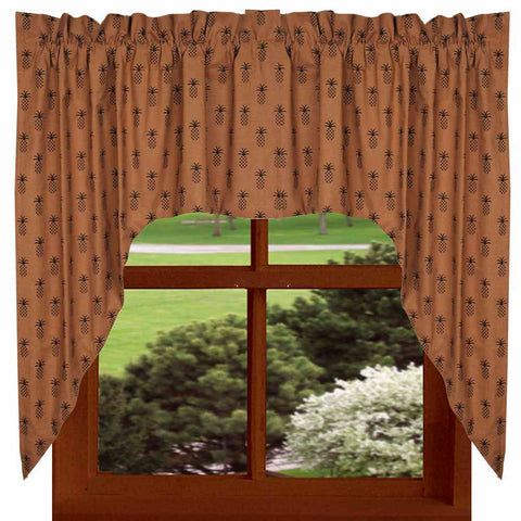 Pineapple Town Curtains