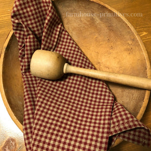 Newbury Red Check Dish Towel - Farmhouse-Primitives