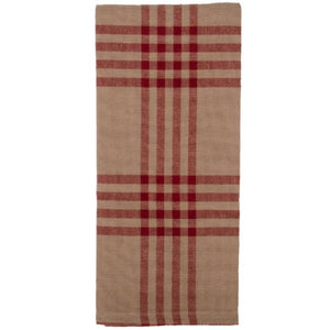 Chesterfield Check Red Dish Towel - Farmhouse-Primitives