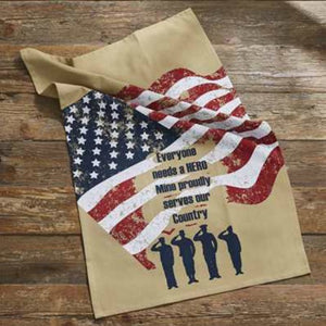 Everyone Needs a Hero Dish Towel - Farmhouse-Primitives