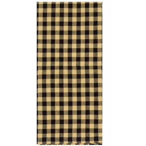 Heritage House Black Check Dish Towel