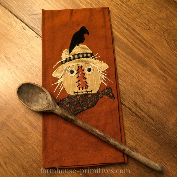 Scarecrow Dish Towel and Hot Mitt