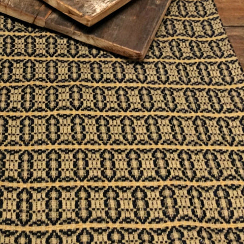 Acorn Textiles Black Tan Wheat