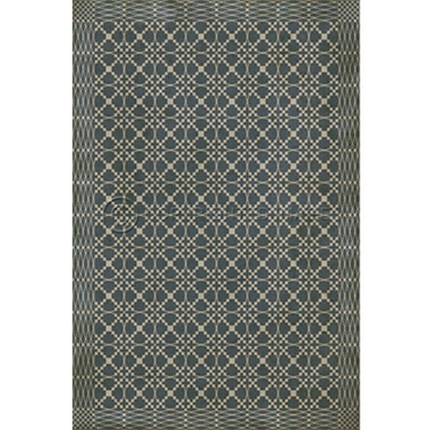 Albemarle Woven Floorcloth - Farmhouse-Primitives