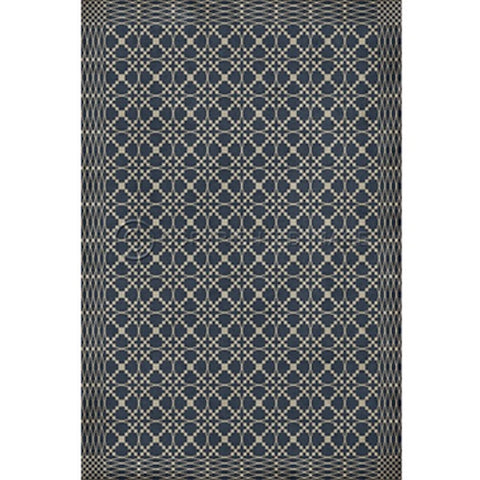 James Woven Floorcloth - Farmhouse-Primitives
