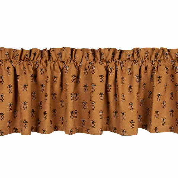 Pineapple Town Curtains - Farmhouse-Primitives