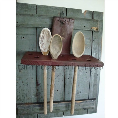 1860's Spoon Holder COLOR CHOICE - Farmhouse-Primitives