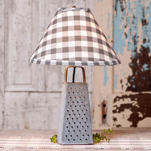 Cheese Grater Lamp STYLE CHOICE - Farmhouse-Primitives