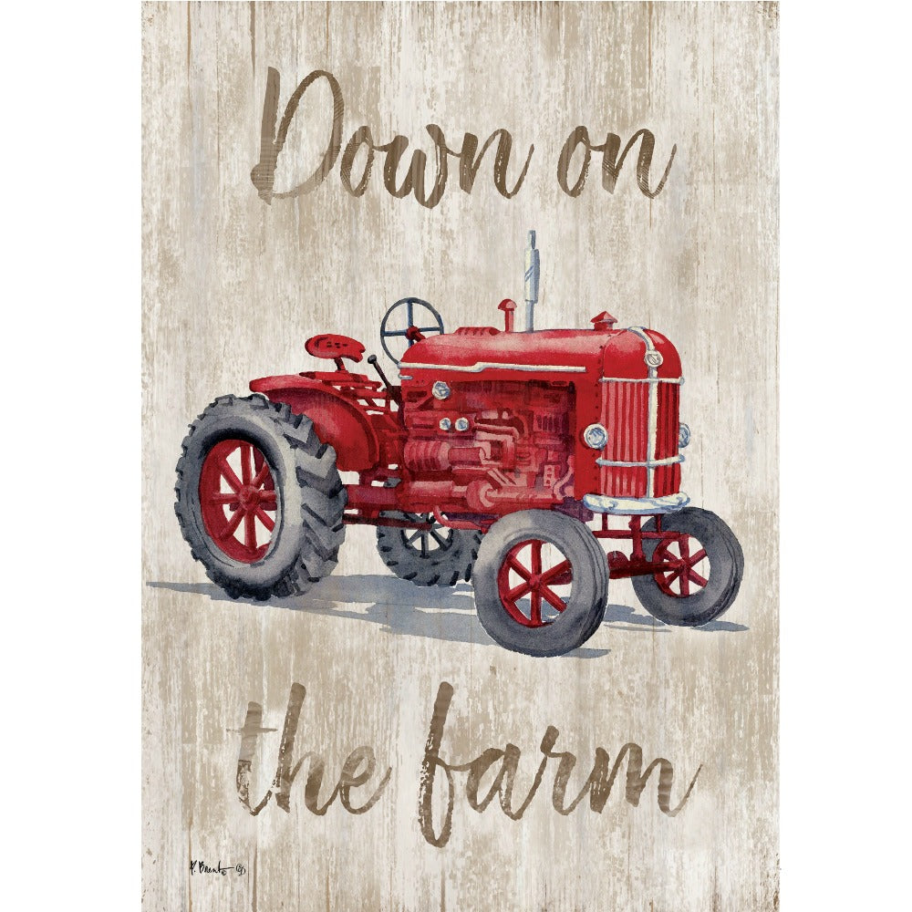 Down on the Farm Garden Flag - Farmhouse-Primitives