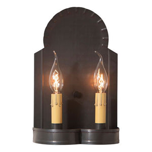 Hanover Double Wall Sconce - Farmhouse-Primitives