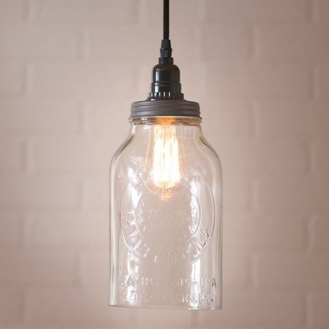 Horlics Jar Pendant Light STYLE CHOICE - Farmhouse-Primitives