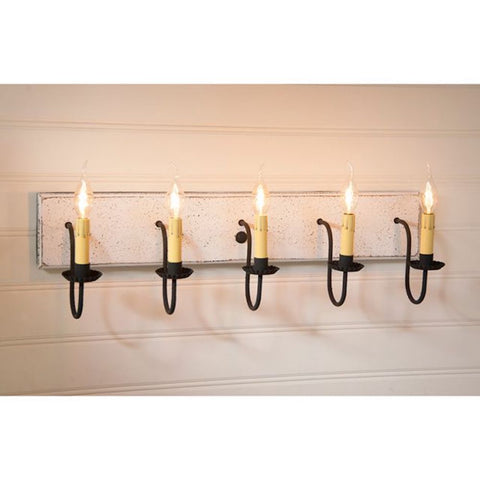 Five Arm Vanity Light COLOR CHOICE - Farmhouse-Primitives