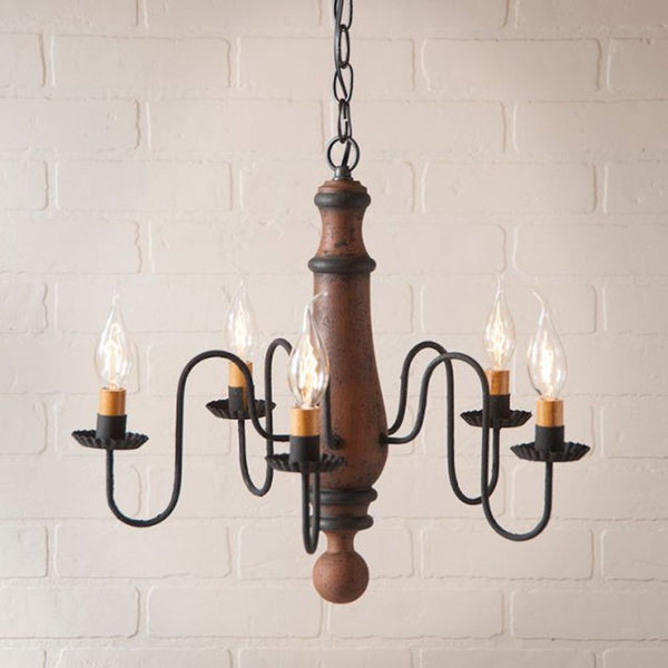 Norfolk Chandelier Medium COLOR CHOICE - Farmhouse-Primitives