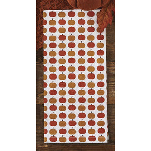Pumpkin Print Dish Towel - Farmhouse-Primitives
