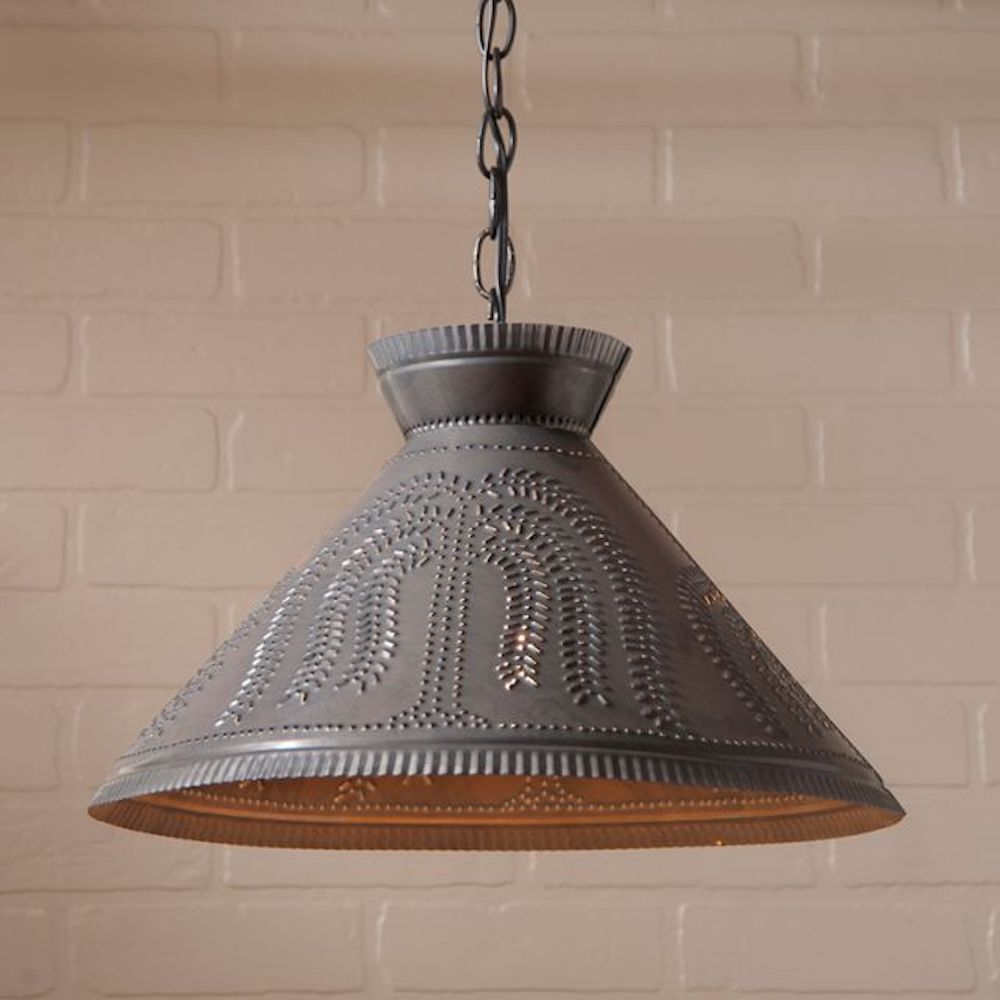 Roosevelt Shade Pendant Light STYLE CHOICE - Farmhouse-Primitives