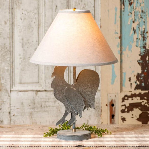 Rooster Lamp STYLE CHOICE - Farmhouse-Primitives