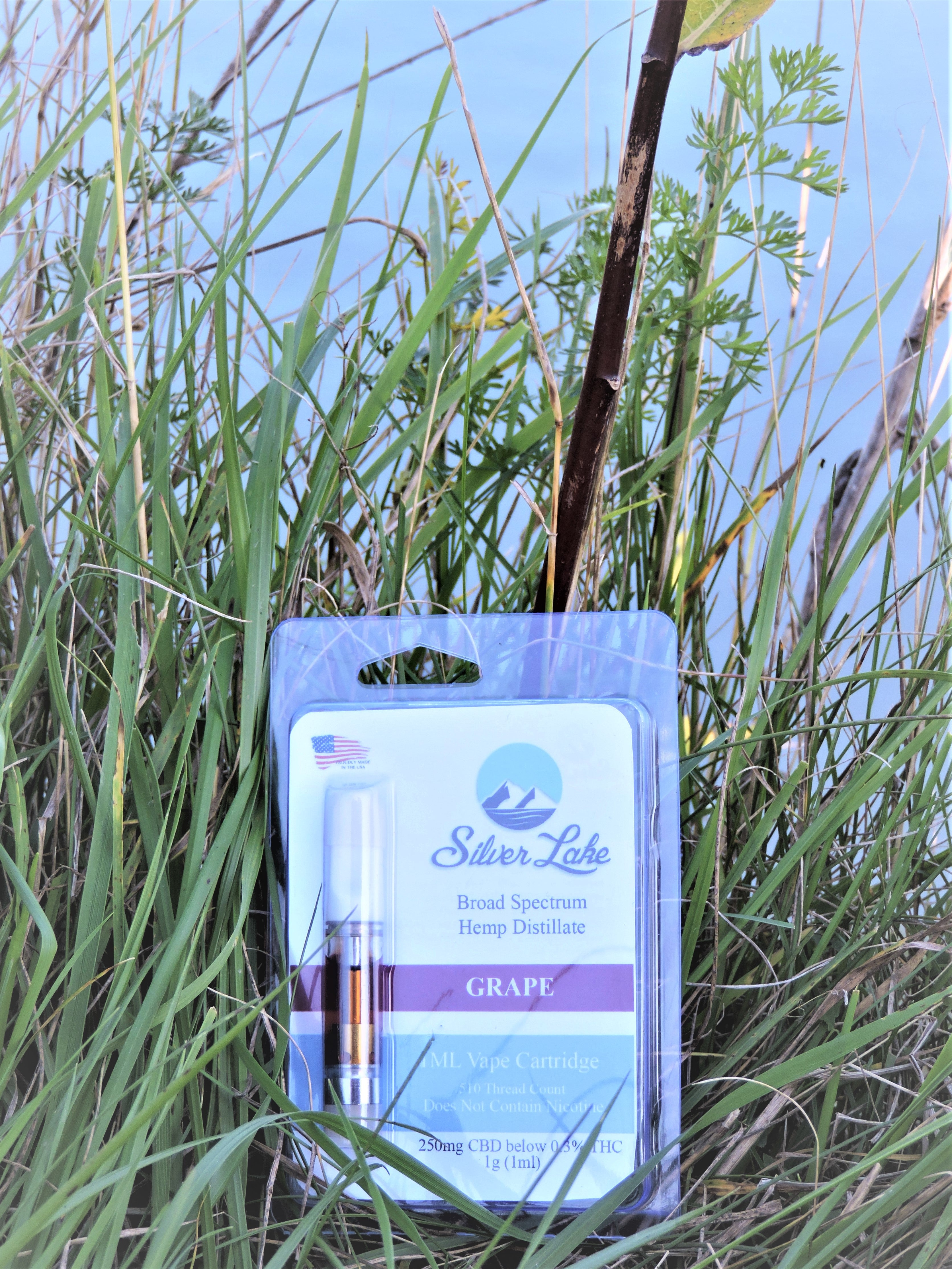Naturally Flavored Pre-Filled Vape Cart | Silver Lake