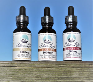 Hemp Extract Tincture Made With Hemp Distillate | Silver Lake