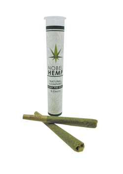 Natural Hemp 2 count Pre Rolls | Nobel Hemp
