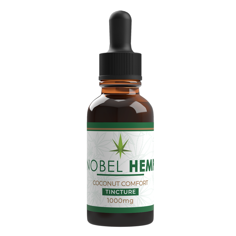 Hemp Extract Tincture Made With Hemp Distillate | Nobel Hemp