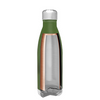 h2go Army Green 17 oz Force Water Bottle