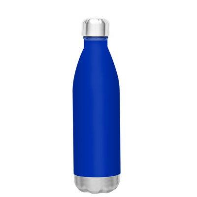 h2go Blue Gloss 17 oz Force Water Bottle