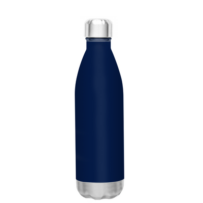 h2go Navy Blue 17 oz Force Water Bottle