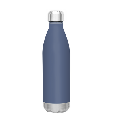 h2go Periwinkle Grey 17 oz Force Water Bottle