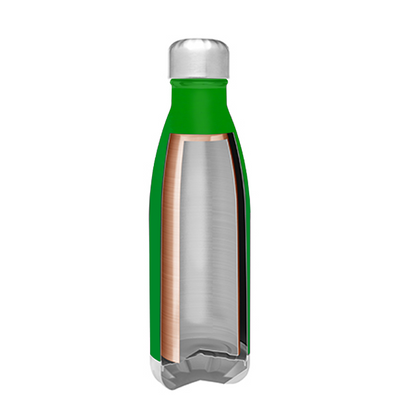 h2go Tractor Green 17 oz Force Water Bottle